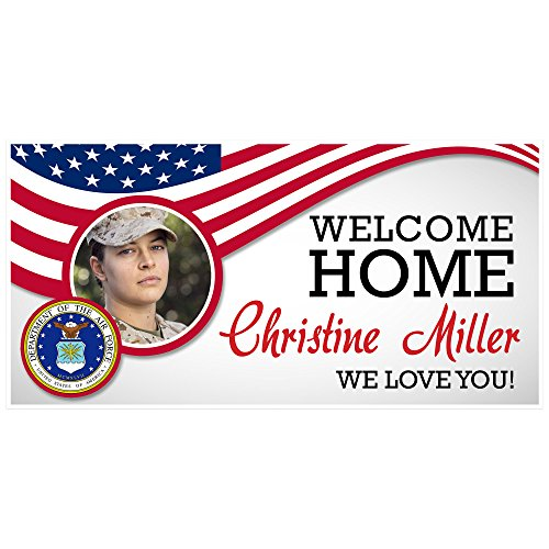 (Personalized Welcome Home Air Force Military)