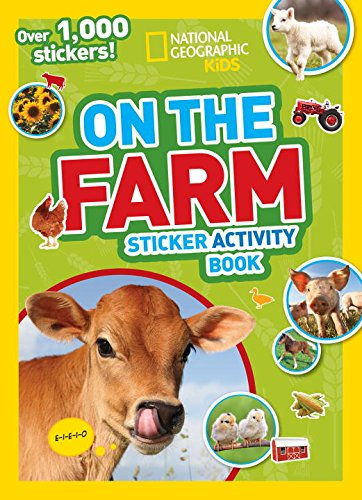 National Geographic Kids On the Farm Sticker Activity