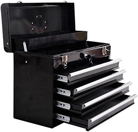 Generic - Caja de herramientas para el pecho, 4 cajones, portátil ...