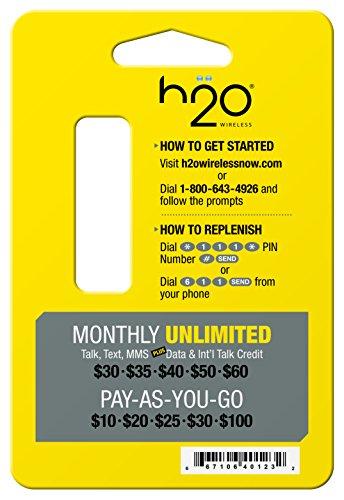 H2O Wireless X-1 Инструмент для сим-карты
