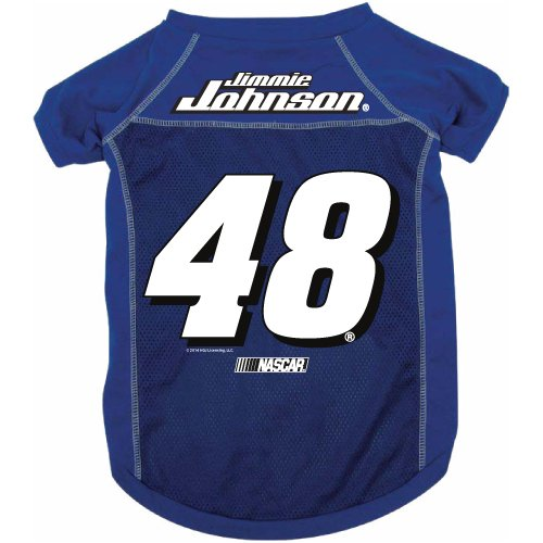 NASCAR Jimmie Johnson Pet Jersey with Patch, Medium, Team (Nascar Dog Clothes)