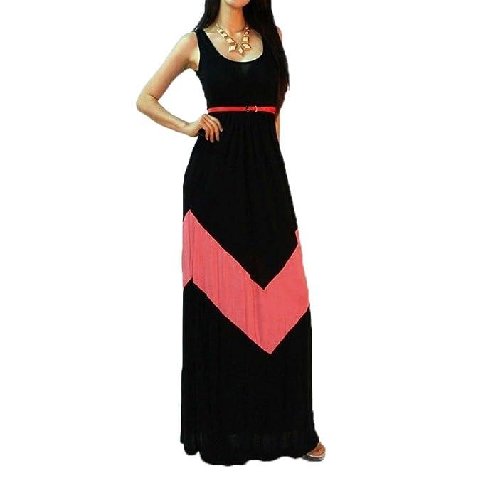 vestito lungo nero estivo