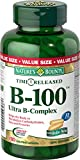 Nature's Bounty Time Release Vitamin B-100 Ultra B-Complex 180 count