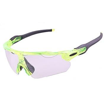 Ciclismo Gafas Gafas de Sol Deportivas fotocromáticas Semi-Rimless Polarizadas Protección UV400 Conducción Ciclismo Correr
