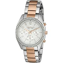 Caravelle New York Women's Quartz Stainless Steel Dress Watch (Model: 45L148)