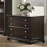 Coaster Home Furnishings Transitional File Cabinet, Walnut