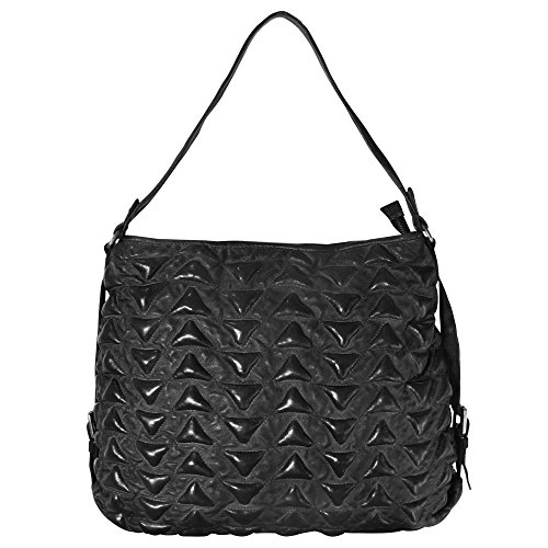 Marokko tout Cuir 41 Main Triangle Sac Kid Fourre À Cm Alia Black The Billy SwRzEE