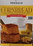 bread baking mix - Penguin Natural Foods All Natural Baking Mix Corn Bread 6 Pouch Box net wt 5.625(lbs)