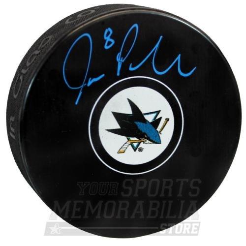 Joe Pavelski San Jose Sharks Signed Autographed Sharks Hockey Puck B