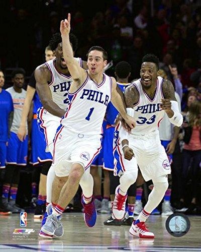 Amazon.com  T.J. McConnell Philadelphia 76ers NBA Action Photo (Size ... 60e9afe7d