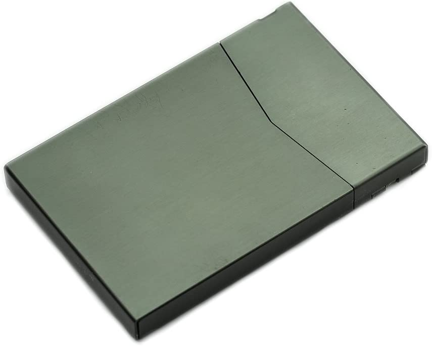 Ultrathin Case Aluminum Alloy Metal Box Pocket Credit ID Card Holder
