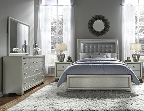 Pulaski 5 Piece Celestial Queen Bedroom Suite, Queen by Pulaski