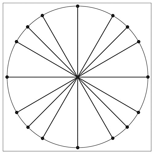 Unit Circle - Geyer Instructional Products 181304 Unit Circle Easy Cling Graph