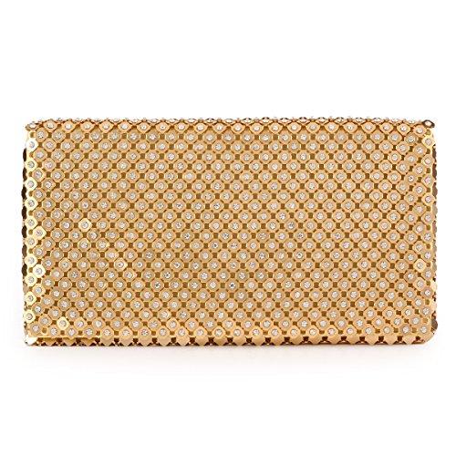 Gold Jeweled Bag - 6