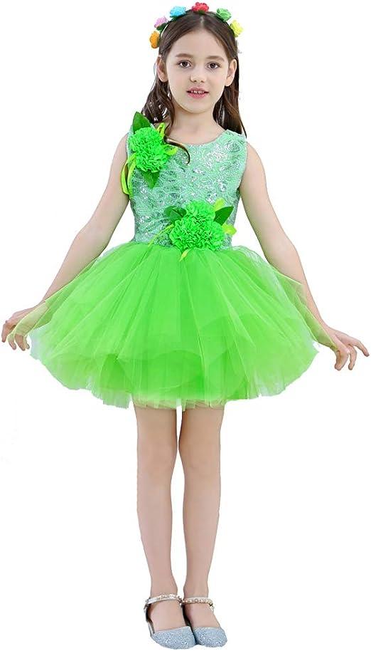 Disfraz de baile de hoyo Fei Nio – Disfraz de jazmín para niños de ...