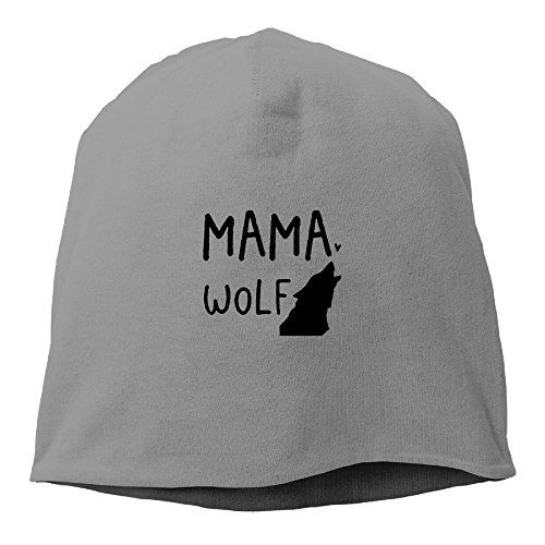 mama-wolf-cool-beanie-hat-cap-winter-hat