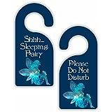 Sleeping Fairy - Novelty - Girls Room Door Sign Hanger...