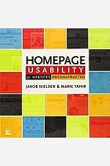 Homepage Usability: 50 Websites Deconstructed by Jakob Nielsen (2001-10-03) Mass Market Paperback