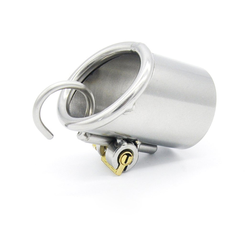 FeiGu Male Stainless Steel Jaulas de Pene Chastity Cage (3mm) Device 170 (3mm) Cage 853492