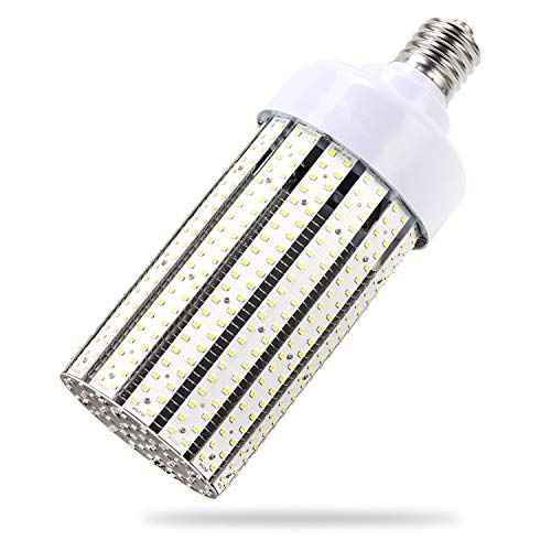 120W LED Corn cob Light Bulb, Large Mogul Base E39 LED Bulbs,5000K Daylight AC110-277V,LED Replacement 600W Metal Halide HID HPS for steet Area Warehouse Parking lot High Bay Canopy shoebox Fixture Bulb Ed37 Mogul Base