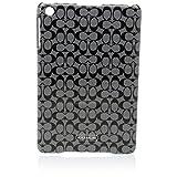 Coach Signature Mini iPad Case B/W