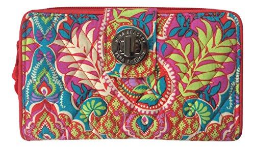 Vera Bradley Turnlock Wallet (Paisley in Paradise) ()