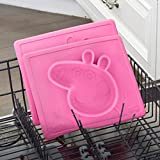 ezpz Peppa Pig Mat (Pink) - 100% Silicone Suction