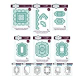 Sue Wilson Die and Stamp Set - Complete Atlantic Ocean Collection