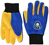 MLB Milwaukee Brewers 2015 Colored Palm Retro Utility Glove, One Size, Blue