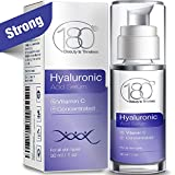 Hyaluronic Acid Serum For Face - 180 Cosmetics - Face Serum For Face and Eyes - Pure Hyaluronic Acid Serum for Reduced Wrinkles and Fine Line and for Visibly Plumped and Hydrated Skin - 1oz