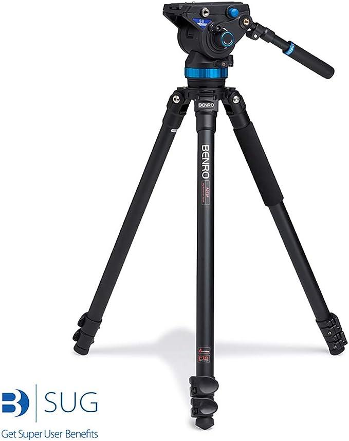 Benro A373fbs8 Aluminium Videostativ Mit Kopf Kamera