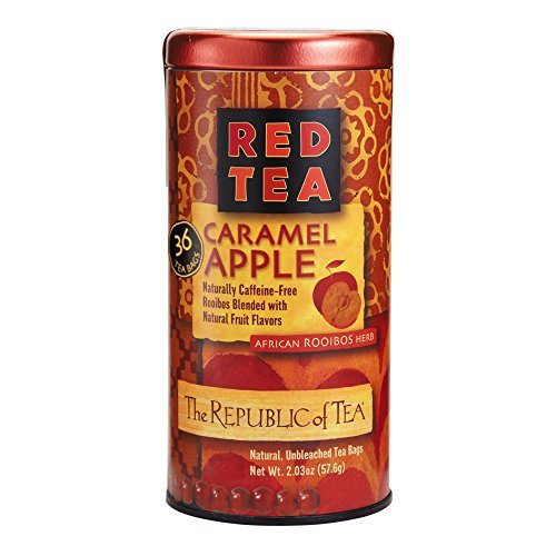 Smooth Caramel Apple - The Republic of Tea, Caramel Apple Red Tea, 36-Count