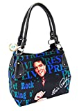 Elvis Presley Canvas Purse, Elvis King of Rock