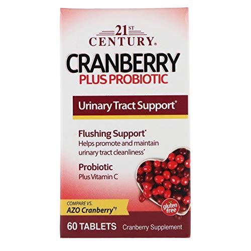 - 21st Century, Cranberry Plus Probiotic, 60 Tablets