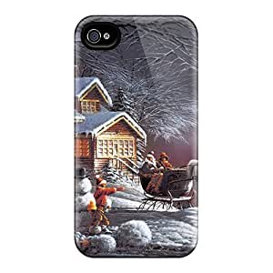 New Arrival Iphone 4/4s Case Christmas Case Cover