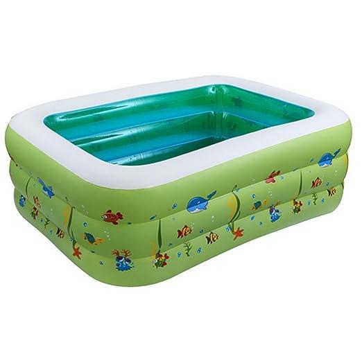 DZW Niños bebé piscina hinchable Piscina hinchable ...