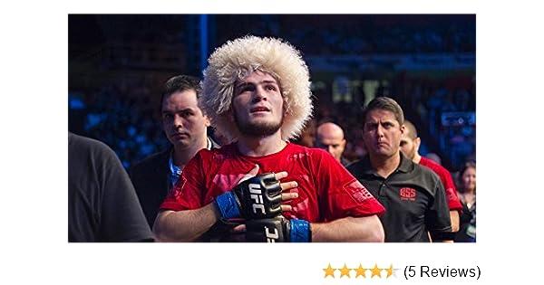 HABIB Khabib Nurmagomedov papakha papaha sheepskin fur Caucasus  WINTER HAT