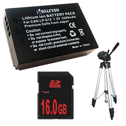 Canon EOS M 18 MP CMOS Sin Espejo Cámara réflex digital LP-E12 ...