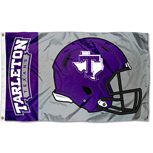 College Flags and Banners Co. Tarleton State Texans Football Helmet Flag