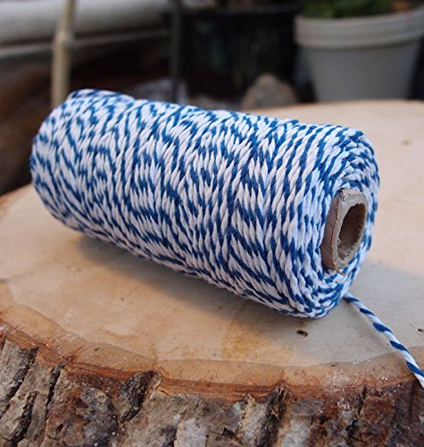 PaperLanternStore.com Dark Blue Bakers Twine Decorative Craft String (110 Yards)