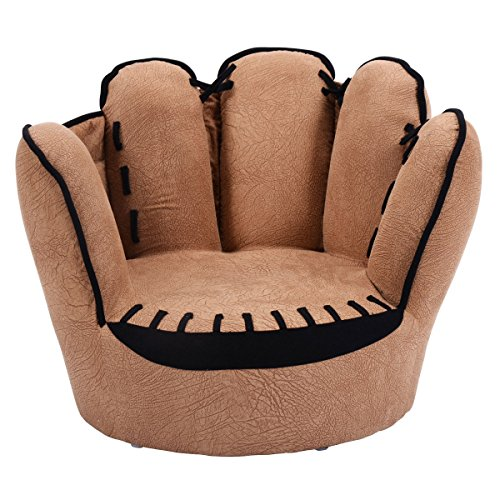 Lovely Costzon Kids Sofa Chair Finger Style Toddler Armchair Living Room  Seat