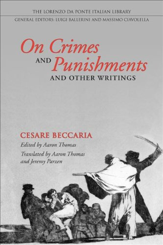 On Crimes and Punishments and Other Writings (Lorenzo Da Ponte Italian Library)