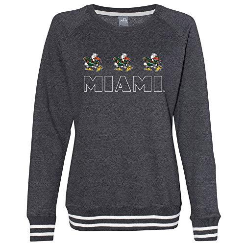 Official NCAA Miami Hurricanes RYLMIA08, G.A.8652, BLK, L -