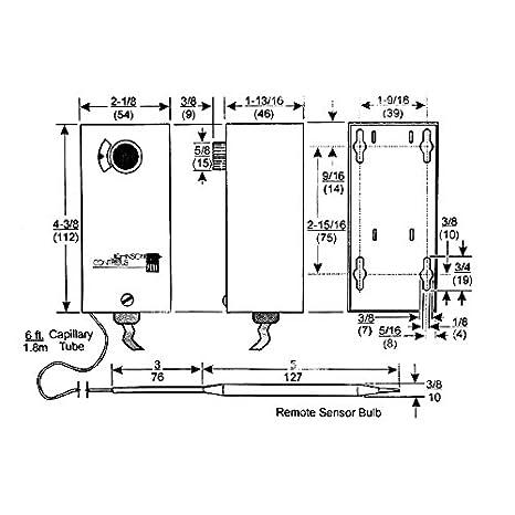Amazon.com: Johnson Controls A19AAT-2C Freezer Temperature ... on