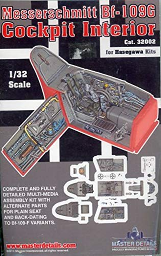 Master Details 1:32 Messerschmitt Bf-109G Cockpit Interior for sale  Delivered anywhere in USA