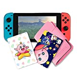 NFC Tag Game Cards for Kirby Star Allies Switch - 5pcs Cards with Holder