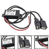UEB Inverter DC 12V to 5V 3A Dual USB Auto Power Regulator step-down