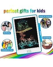 NEWYES Tablette d'Ecriture LCD 10 inch, Ecran Coloré, Bloc de Notes Electronique pour Enfant et Adulte