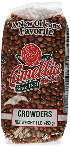 Camellia Brand - Crowder Peas, Dry Bean (1 Pound Bag)