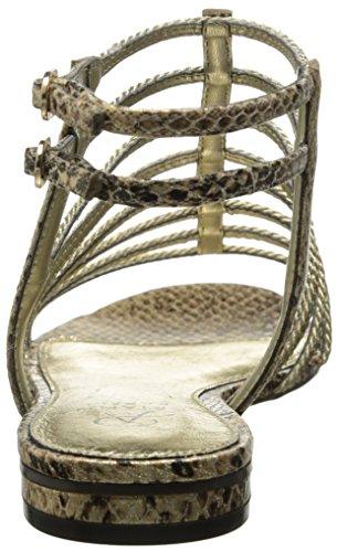 Adrianna Papell Donna Lafayette Gladiatore Sandalo Platino Corda Metallica